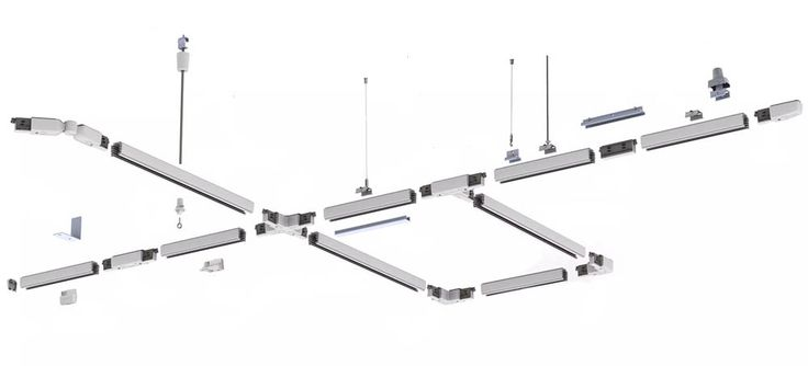 Sínes lámparendszerek - Üzletek, múzeumok, irodák világtása