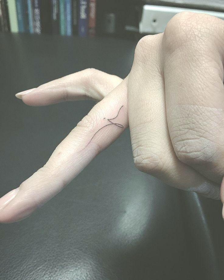 Tätowierung Finger