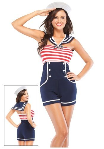 Best 25 sailor costumes ideas on pinterest sailor halloween nautical pin up sailor costume its about more than golfing boating and beaches solutioingenieria Choice Image