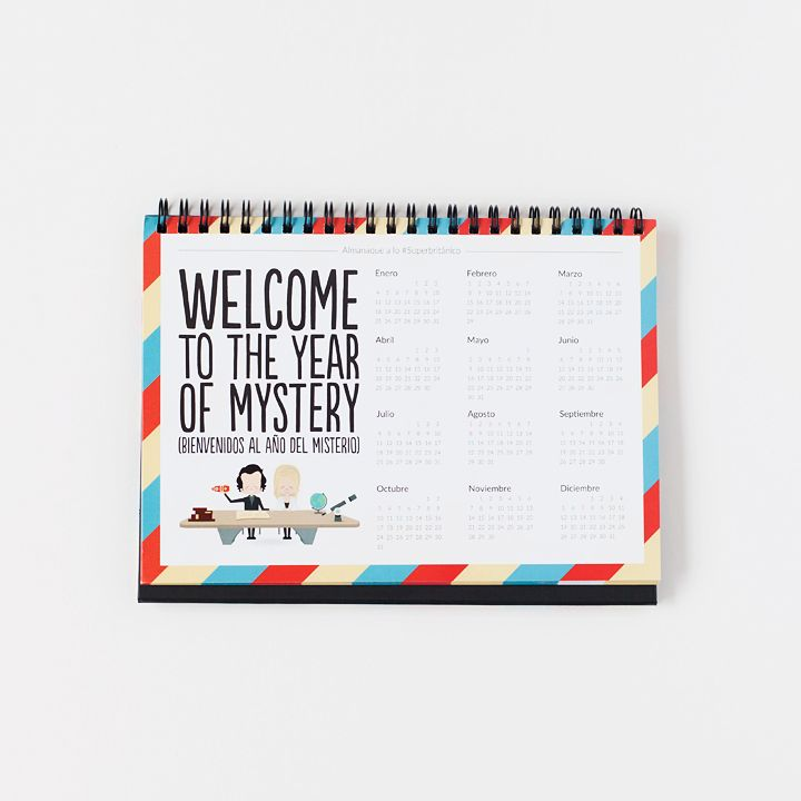 Almanaque de mesa 2016 - Welcome to the year of mystery
