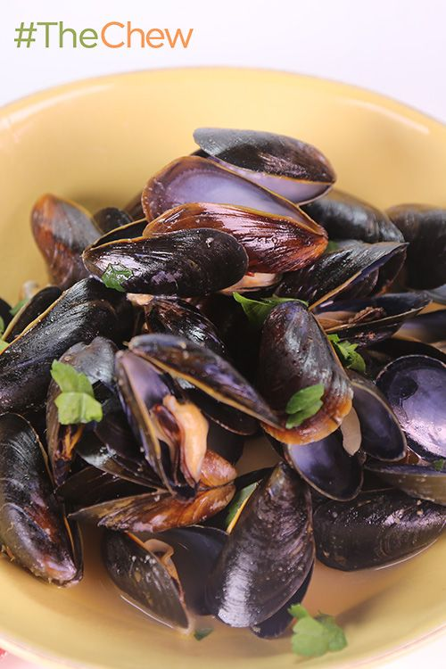 Joanna's Cozze in Bianco by Joanna Fini - this quick and easy seafood dish is likely to be gone faster than it takes to make it!