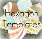 Free Hexie Templates: Quilts Hexies, Free Hexagon Template, Quilting Hexies, Hexagons Quilts, Hexagon Quilt Template, Hexagons Templates, Hexie Templates, Hexies Quilting, Quilting Hexagons