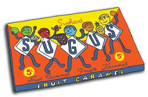 Remember these fruity sweets!