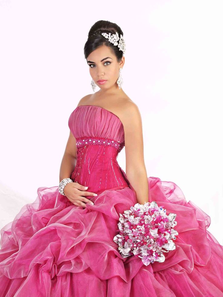 Long quinceanera dress donation