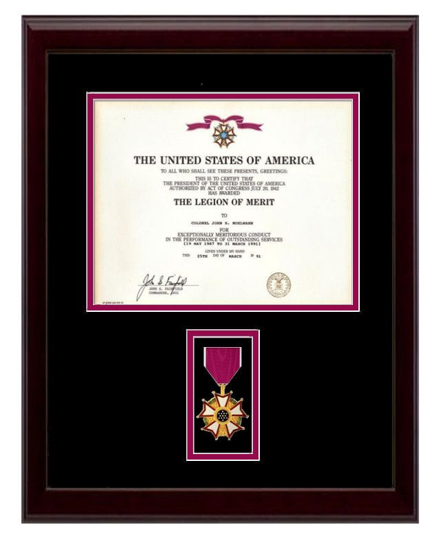 32 best Military Certificate & Diploma Frame Displays images on ...