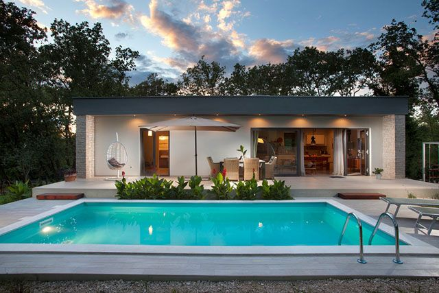 BRERA: what a paradise! #villas #pool #summer #party #nature #design #designtiles #architecture