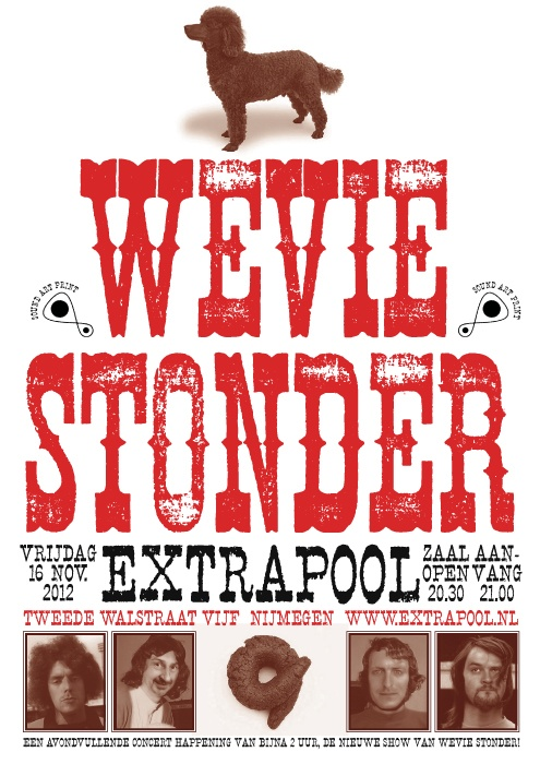 Wevie Stonder #extrapool #poster #redbol