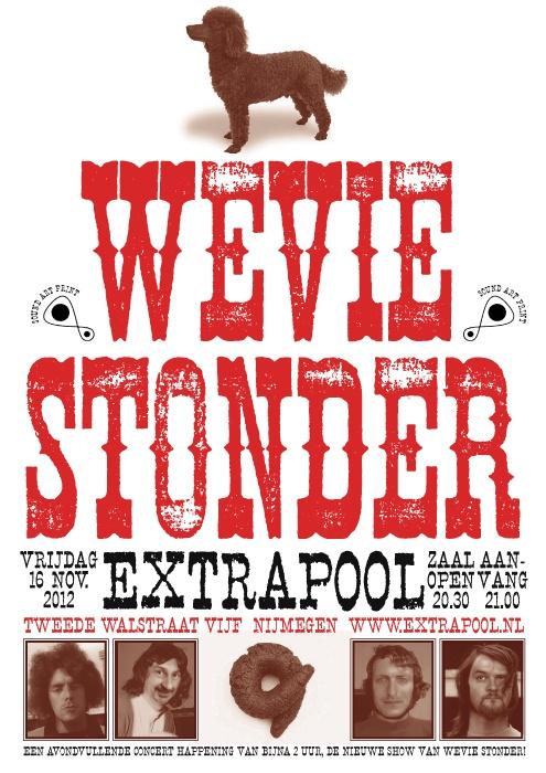 Wevie Stonder #extrapool #poster #redbol