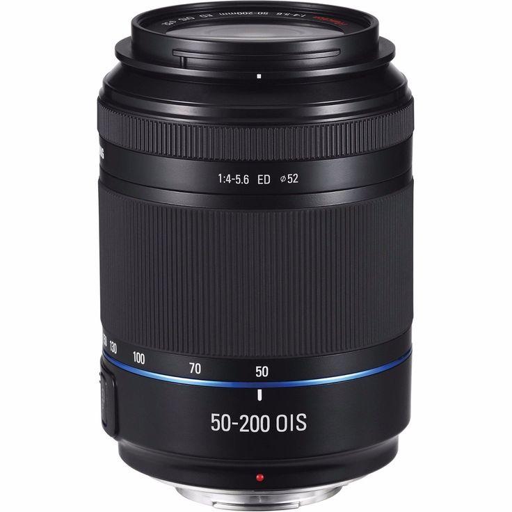 Samsung NX 50-200mm F/4-5.6 II OIS II ED Telephoto Lens (EX-T50200IB) (Black)