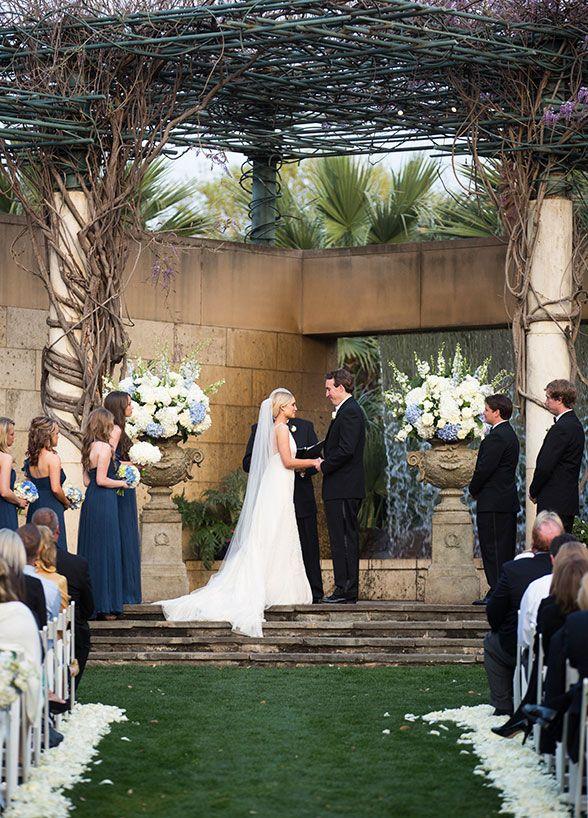 outdoor wedding venues dfw texas%0A Ceremony in the Lay Ornamental GardenDallas Arboretum