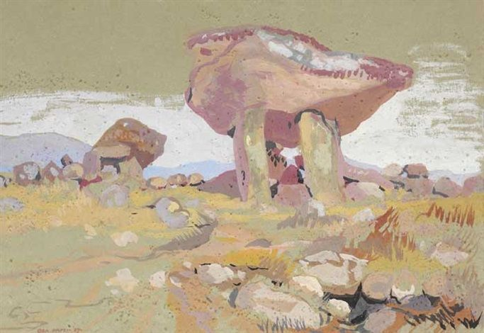 """Kilclooney Donmel, County Donegal"" by  Bea Orpen, HRHA"