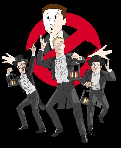 Opera Ghostbusters... Oh my goodness! If theres something strange.....and it dont look good......who ya gunna call......PHANTOM BUSTERS!!!! HAHAHAHAHAHAHAHAH oh man too funny!!!