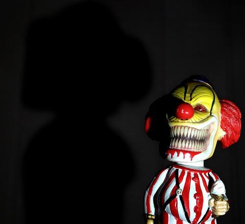 Little bit creepy clown