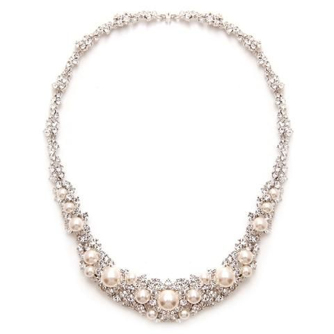 Sophie Crystal & Pearl Necklace