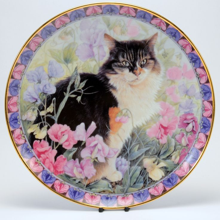 83 Best Cats Collectible Plates Images On Pinterest