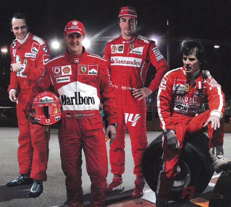 Niki Lauda - Michael Schumacher - Fernando Alonso - Gilles Villeneuve