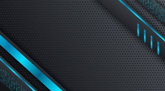 Black And Blue Techno Corporate Business Background Design