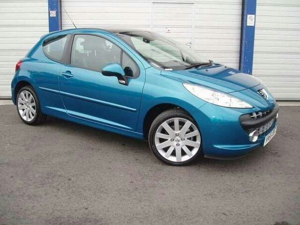 11 best cars images on pinterest peugeot 2nd hand cars and diesel peugeot 207 blue fandeluxe Images