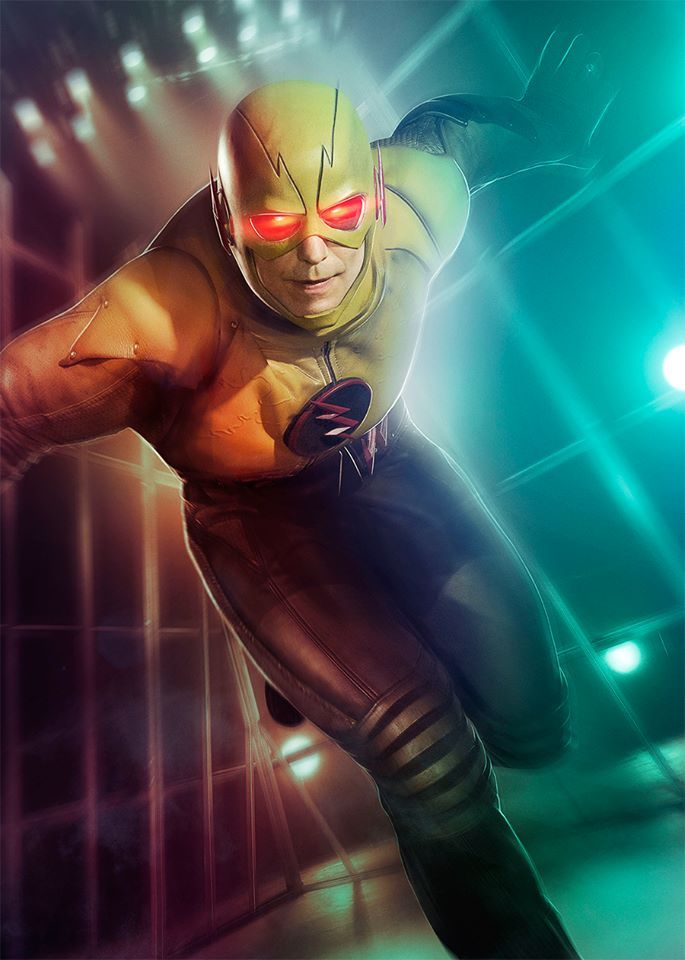Even the Reverse Flash needs a sparring partner. Watch # ...