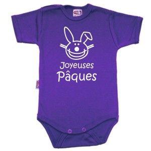 Body bébé original : Joyeuses PÂQUES