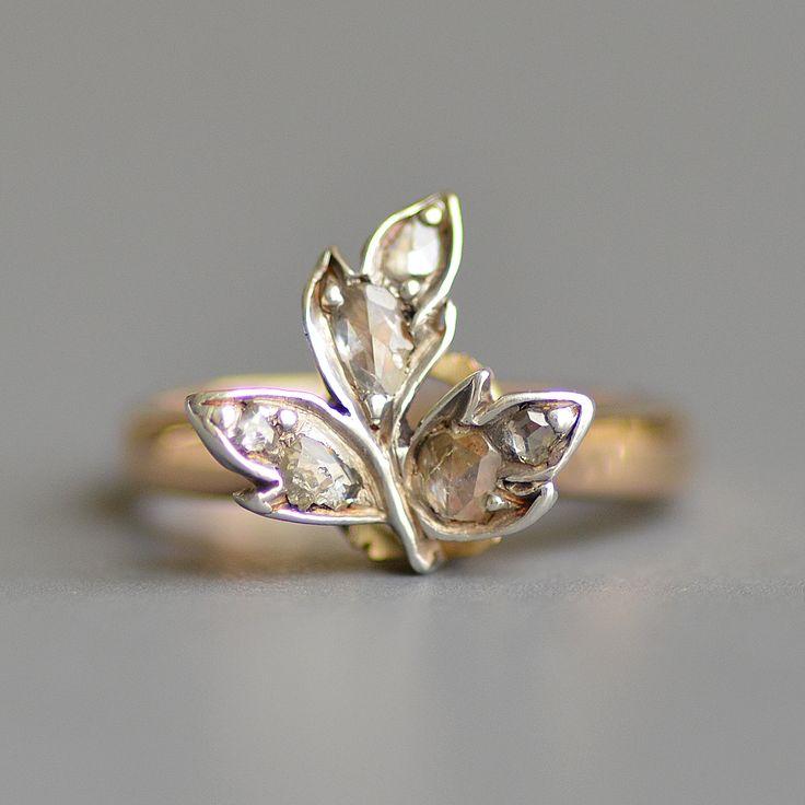 Harry Kotlar Heart Shape Diamonds Dynasty Ring - UK M - US 6 - EU 52 3/4 2sjZF2lNT