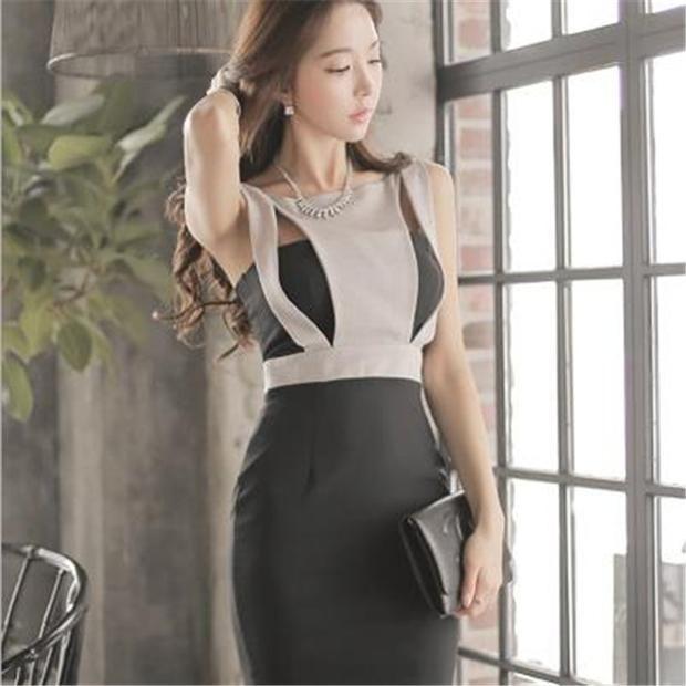 Black Slim Dress