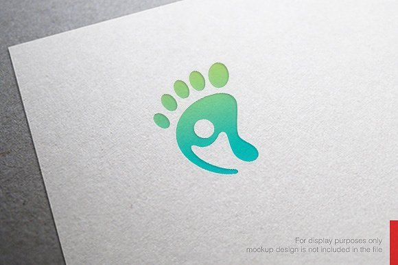 People Feet Care Logo by nospacestore on @creativemarket