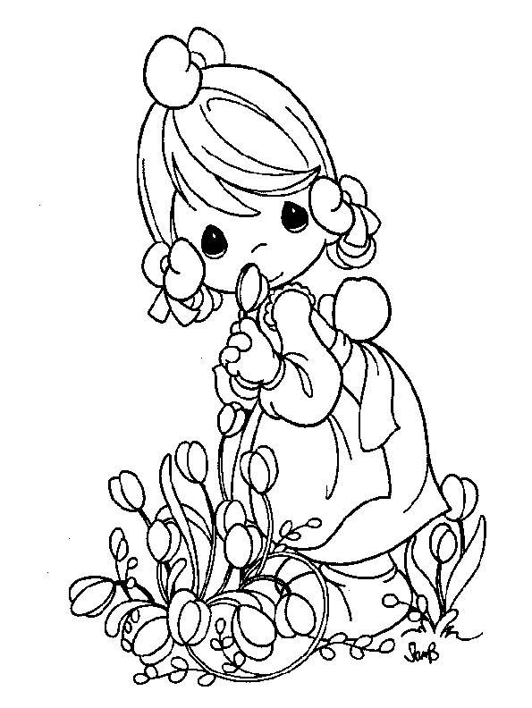 precious moments coloring pages cow - photo#13