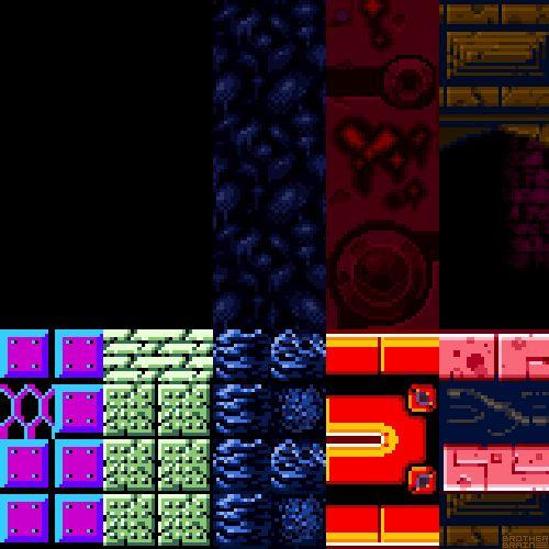 Samus Evolutionby Brother Brain.Metroid (NES) Nintendo 1987.Metroid II: Return of Samus (Gameboy) Nintendo 1991.Super Metroid (SNES) Nintendo 1994.Metroid Fusion (GBA) Nintendo 2002.Metroid: Zero Mission (GBA) Nintendo 2004.