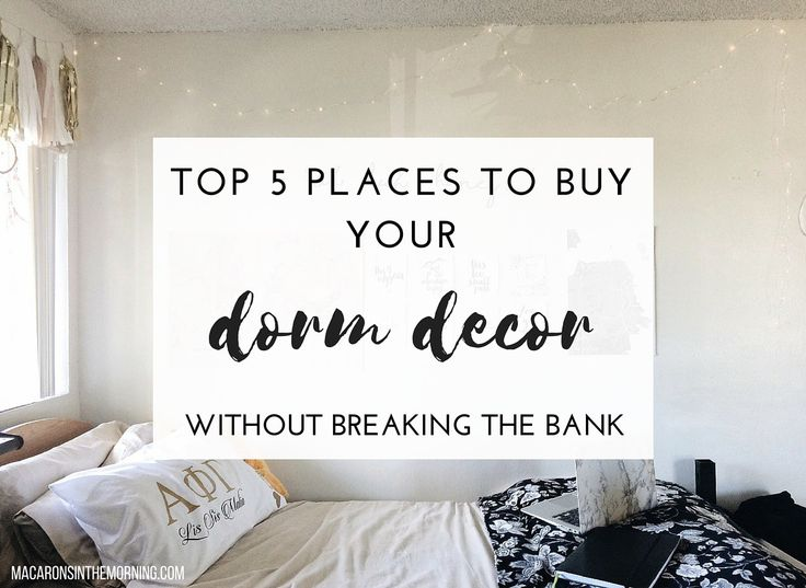 Dorm shopping can be overwhelming. With these stores, your dorm checklist will be completed in no time!
