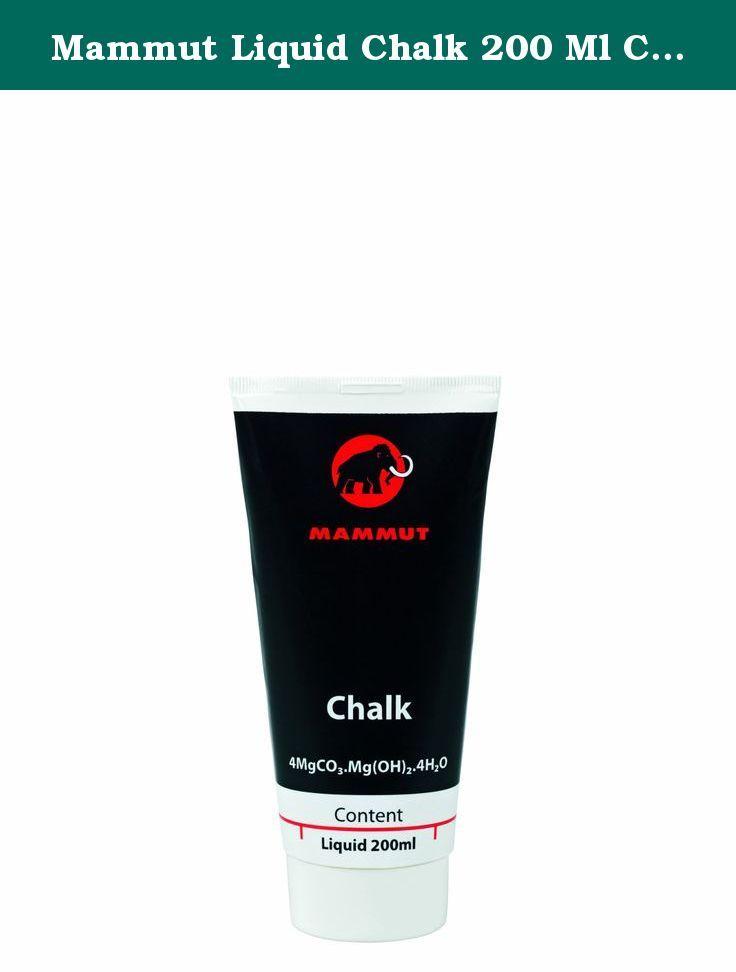 Mammut Liquid Chalk 200 Ml Climbing Chalk (Neutral, One Size). Liquid magnesium for climbing and bouldering.