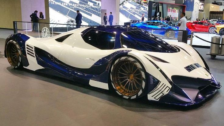 The era of the 300mph supercar may soon be upon us if you're on board with the astonishing claims of Dubai-based motor company Devel. - Devel Sixteen Concept Car