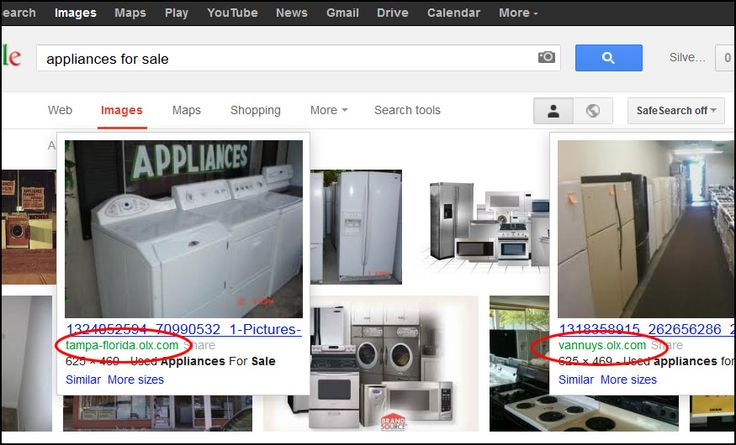 OLX Appliance Searches