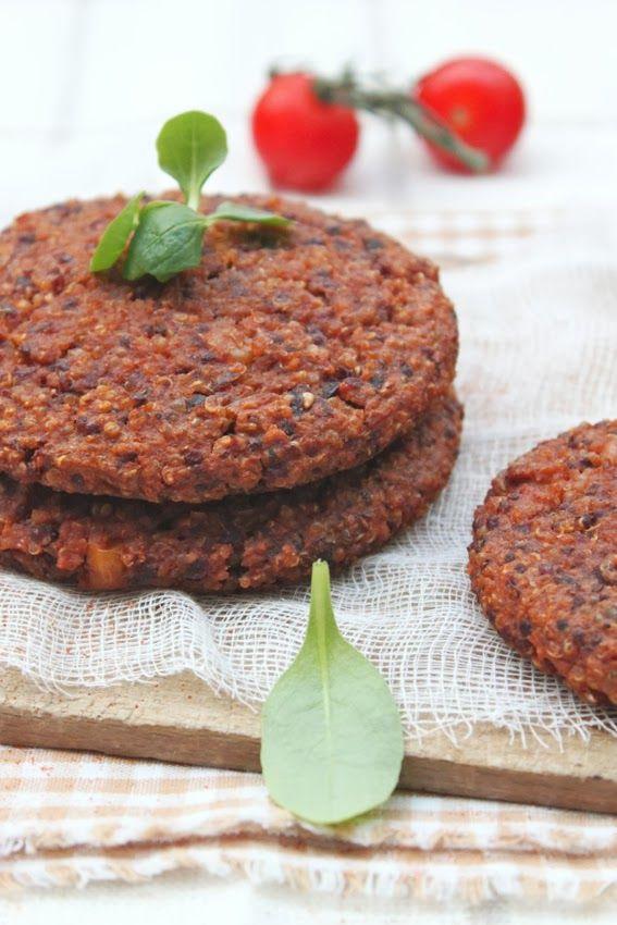 Petits repas entre amis: Galettes mexicaines quinoa~haricots rouges~maïs aux épices chili
