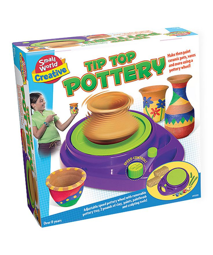Look at this #zulilyfind! Tip Top Pottery Kit by Small World Toys #zulilyfinds
