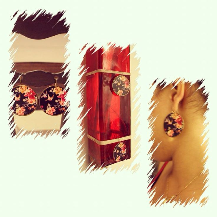 Accessorize flower earrings rs 250 Contact me on fb on my page pretty in pink . Or send me a comment for your query.