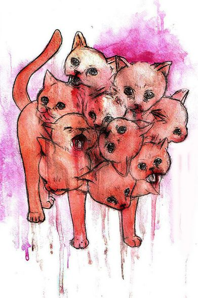 : Cat Art, Best Friends, Posts, Feline Friends, Illustration Art, Meow Cats, Photo, Cats Oooo