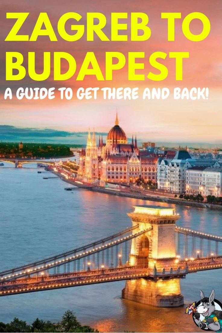 How To Get From Zagreb To Budapest In 2020 Viajes Europa Equipaje