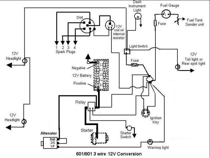 Ford Tractor Wiring Diagram. Ford. Wiring Diagram Images