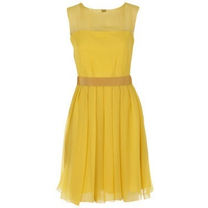Mustard Yellow Spring Dress. I like this, but maybe another color for me.