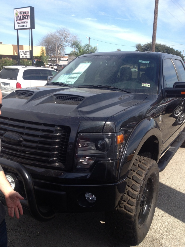 2013 F150 Black Ops Edition Ford F 150