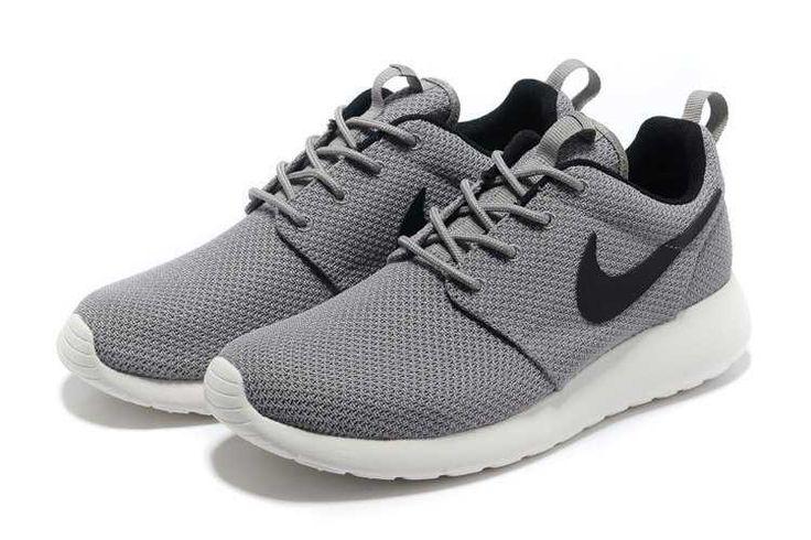 Trainers - Nike Roshe Run Yeezy Mens Grey Black