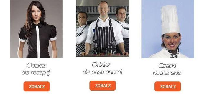 Odzież kucharska i kelnerska