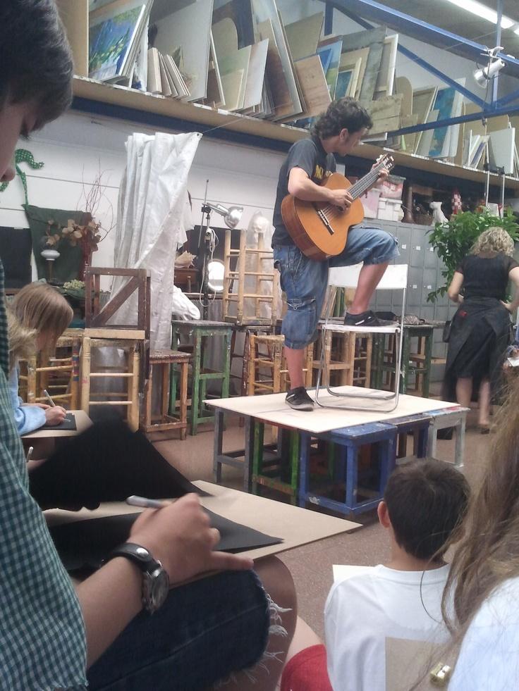 """Taller model al natiral """"mùsica"""",  curs 2011/12   www.escolatrac.com"""