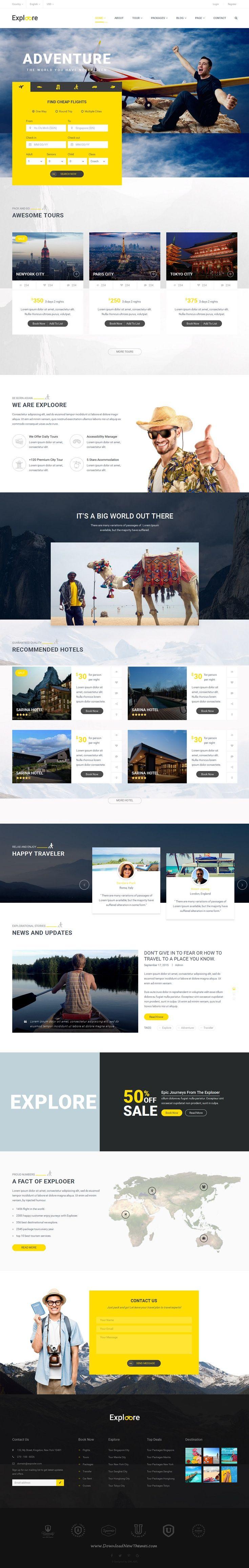 30 best inspiration web images on pinterest travel website design