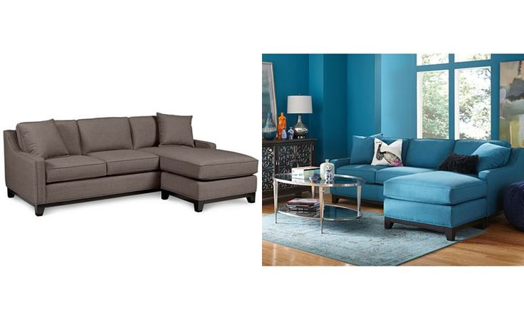 17 best images about living room on pinterest sectional for Keegan fabric 2 piece sectional sofa peacock