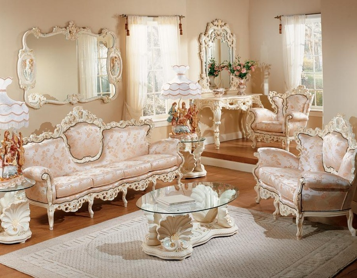 13 best Formal Living Rooms-French Provincial and Shabby Chic images ...