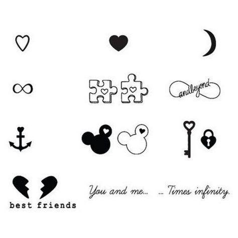 nice Friend Tattoos – Best Friend Tattoos For A Guy And Girl, Best Friend Tattoos And Meanings, Best F… Check more at tattooviral.com/…