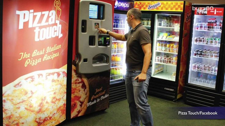 Pizza Vending Machines Will Soon be a Reality Nationwide