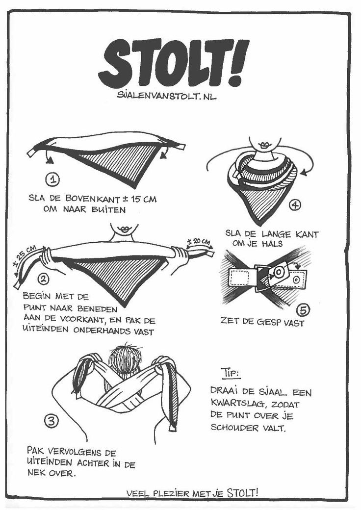 Hoe te dragen – STOLT!